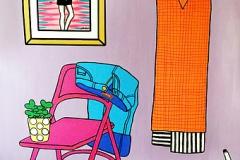 Violet room : 200x150 : acrylic
